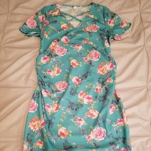 Maternity dress mint green